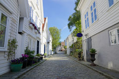 Gamle Stavanger 004 Obraz Royalty Free