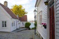 Gamle Stavanger 011 Royaltyfri Bild
