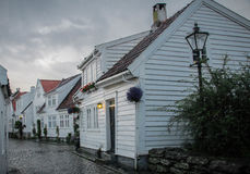 Gamle Stavanger Royaltyfria Bilder