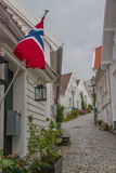 Gamle Stavanger Royalty Free Stock Photography