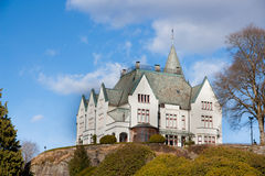 Gamlehaugen in Bergen Royalty Free Stock Images
