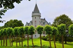 Gamlehaugen Castle stock images