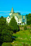Gamlehaugen mansion on July 22, 2014 in Bergen, Norway. Royalty Free Stock Photography