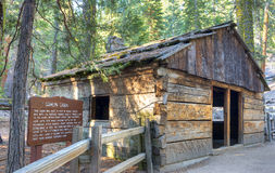 Gamlin Cabin Royalty Free Stock Photography