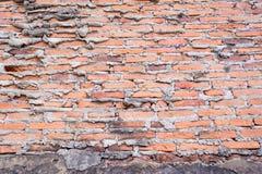 Gamling för betongvägg och för röd tegelsten Royaltyfri Foto