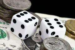 Gamling money Stock Image