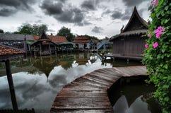 Gamlinghem i Thailand Royaltyfri Foto