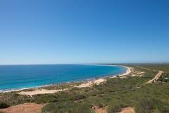 Gamma Australia del capo di Exmouth della costa della scogliera di Ningaloo fotografia stock libera da diritti