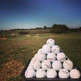 Gamma dell'azionamento di golf Fotografia Stock