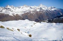 Gamma delle alpi fotografie stock libere da diritti