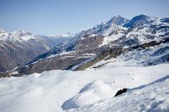 Gamma delle alpi Fotografia Stock Libera da Diritti