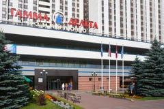 Gamma Delta housing of Izmajlovo hotel Stock Images