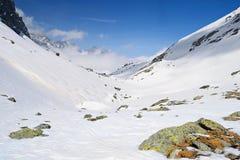 Gamma di alta montagna Immagini Stock
