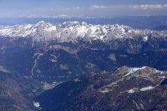 Gamma di Brenta e valle di Campiglio, Italia Fotografia Stock