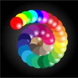 Gamma di colori Fotografia Stock Libera da Diritti