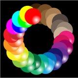 Gamma di colori Immagine Stock Libera da Diritti