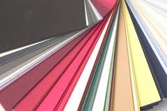 Gamma di colori Fotografie Stock
