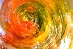 Gamma di colori astratta di autunno Fotografia Stock Libera da Diritti