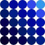 Gamma di colori blu Immagine Stock