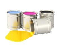 Gamma di colori CMYK Fotografie Stock