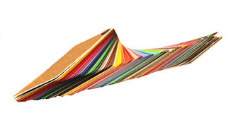 Gamma di colori del campione Fotografia Stock