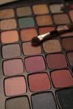 Gamma di colori dell'ombretto Fotografia Stock Libera da Diritti