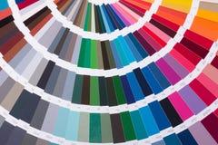 Gamma di colori di colore Fotografie Stock Libere da Diritti
