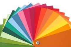 Gamma di colori di colore fotografia stock libera da diritti