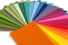 Gamma di colori di colore immagine stock
