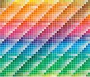 Gamma di colori di colori di CMYK per priorità bassa astratta Fotografia Stock