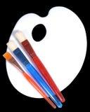 Gamma di colori di idea, descritta Fotografie Stock Libere da Diritti