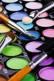 Gamma di colori di trucco Immagine Stock