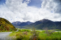 Gamma di Craigieburn, Nuova Zelanda Immagini Stock