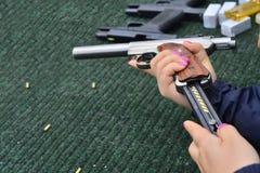 Gamma di fucilazione Fotografia Stock