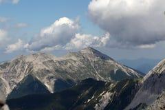 Gamma di Karwendel nelle alpi bavaresi Immagine Stock Libera da Diritti