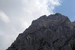 Gamma di Karwendel nelle alpi bavaresi Immagine Stock