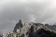 Gamma di Karwendel nelle alpi bavaresi Fotografie Stock