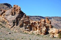 Gamma di Las Canadas del Teide Fotografia Stock Libera da Diritti