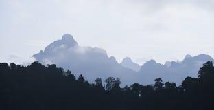 Gamma di montagna Fotografia Stock Libera da Diritti