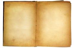 gammal åldrig bok Royaltyfri Bild