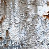 Gammal åldrig riden ut textur för grungerostfärg-peel rostig metall, detaljerad makrocloseup, grungy naturligt rostat texturerat  Royaltyfria Foton
