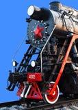 Gammal ångalokomotiv Arkivbilder