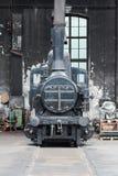 Gammal ångalokomotiv Fotografering för Bildbyråer