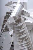 Gammal återvinning för kontorsutrustning Royaltyfri Foto