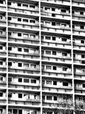 Gammal övergiven byggnad i Aberdeen Arkivfoto