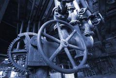 gammal övergiven fabrik royaltyfria foton