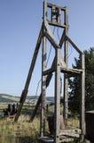 Gammal övergiven guld- min som lokaliseras i Victor Colorado Royaltyfria Foton