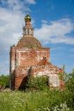 Gammal övergiven kyrka royaltyfri fotografi