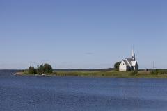 Gammal övergiven kyrka arkivfoto