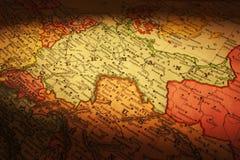 Gammal översiktsTyskland Europa arkivbilder